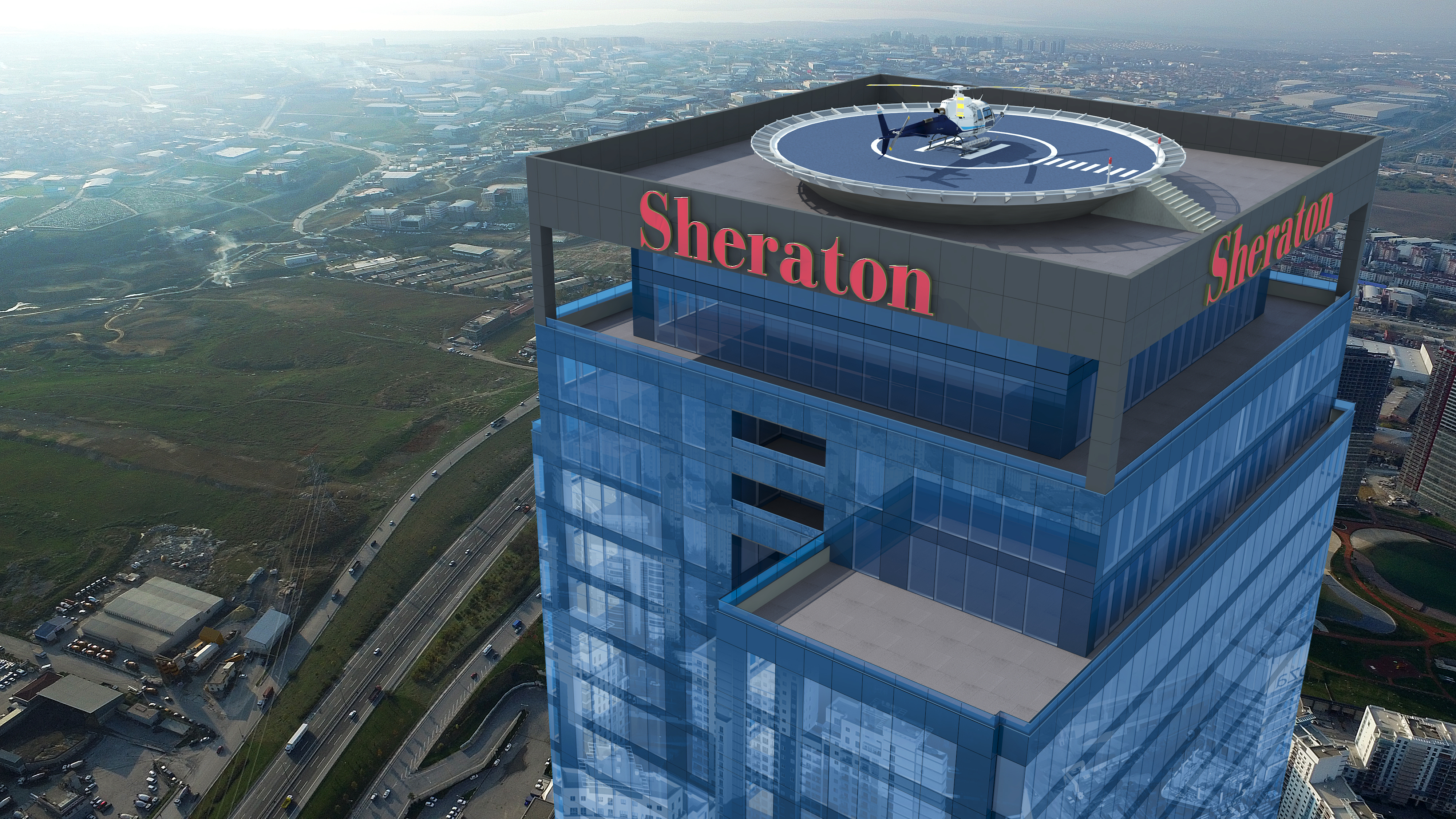 Sheraton Hotel Residence Istanbul