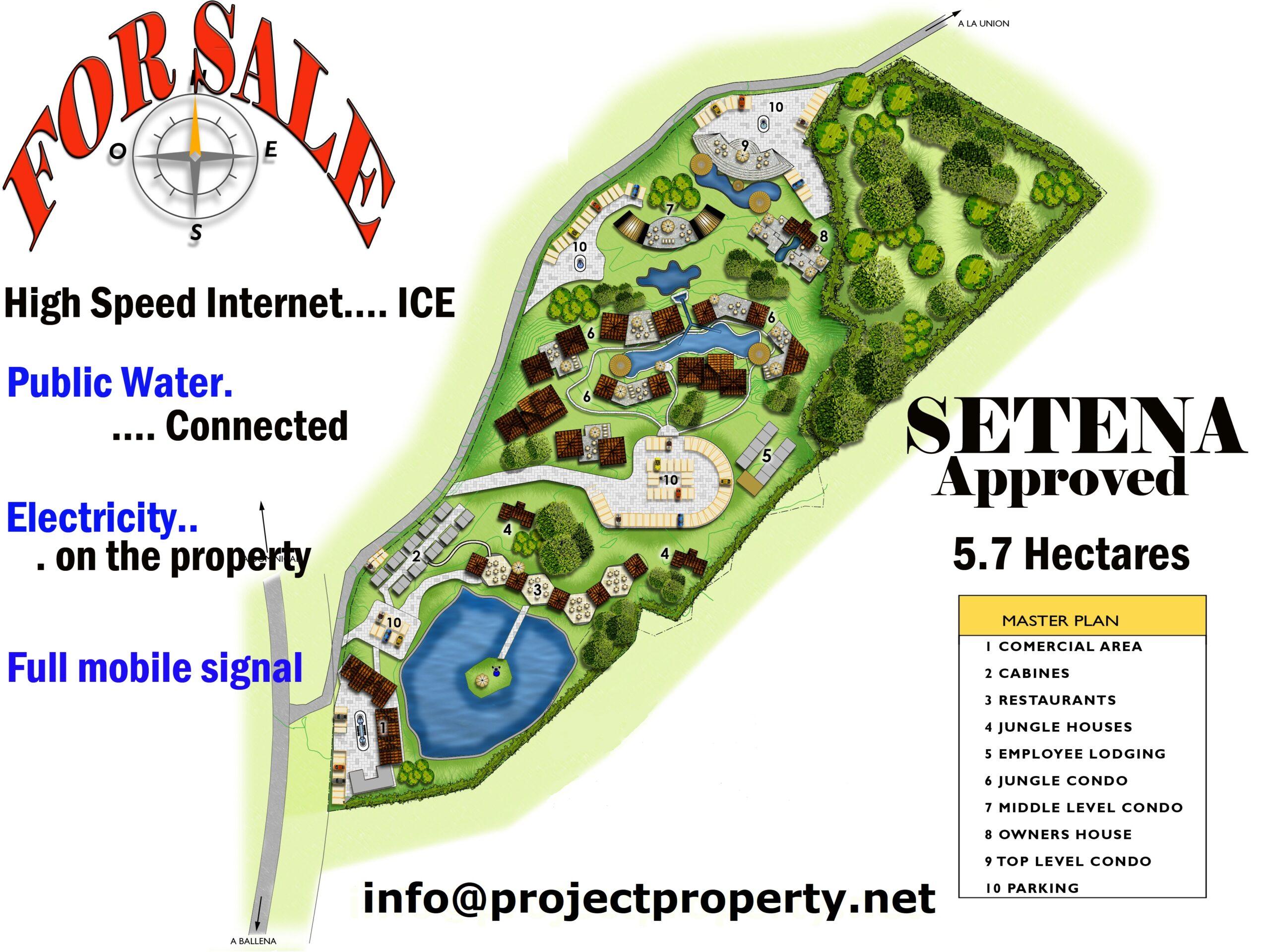 costa rica farm for sale master plan